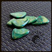 Stone Tones - Arizona Jade - 1 Guitar Pick | Timber Tones